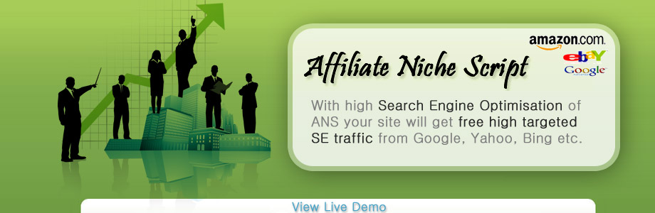 Affiliate Niche Script - SE Traffic