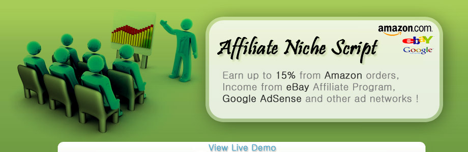 Affiliate Niche Script - Affiliate Programs